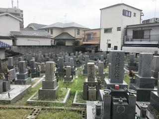 羽曳野市にあるお墓、南宮墓地
