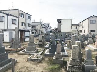 羽曳野市にあるお墓、島泉墓地