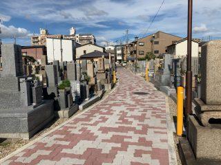 東大阪市にあるお墓、岩田墓地