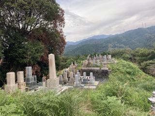 河南町のお墓 下河内・弘川墓地