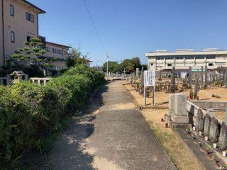 大阪狭山市にあるお墓、茱萸木墓地