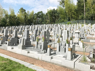 高槻市にあるお墓、西王寺墓地